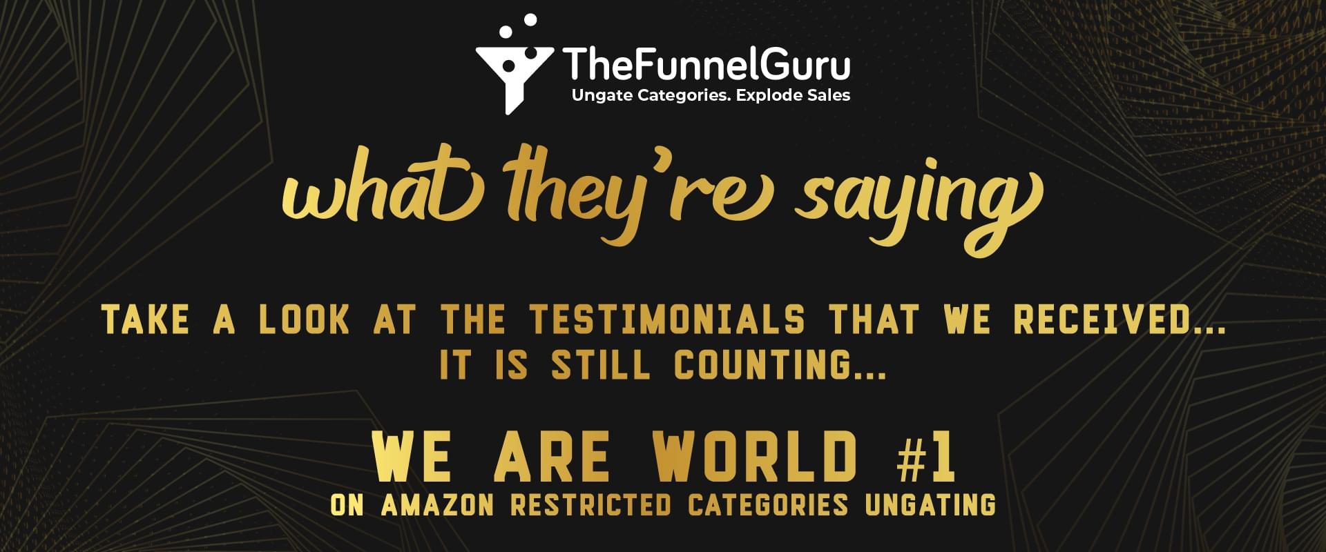 The funnel guru ungating services on amazon