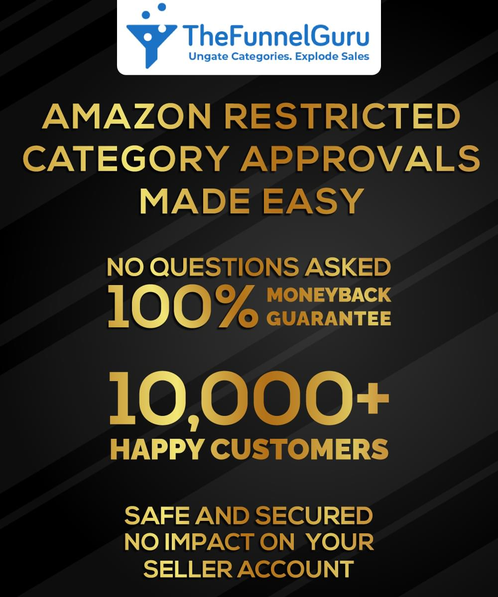 Sell restricted categories on amazon from the funnel guru